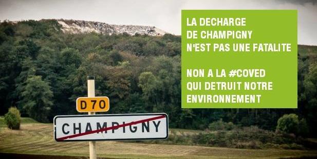 Decharge champigny