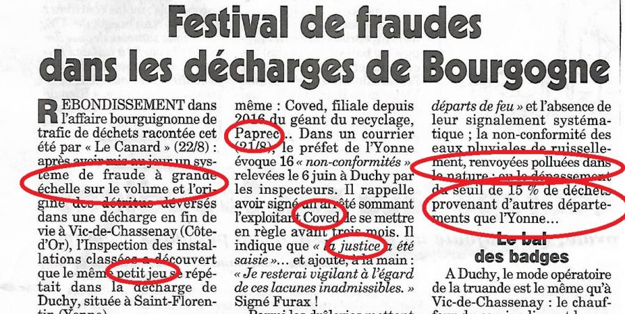Le canard enchaine 17 oct 2018 coved 1