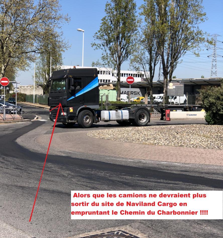 Spsvp camion rue du charbonnier